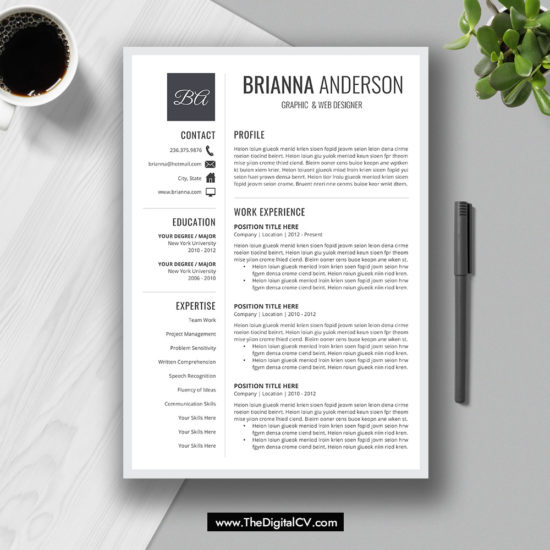 2019 2020 Resume CV Templates Cover Letter Resume Editing Guide