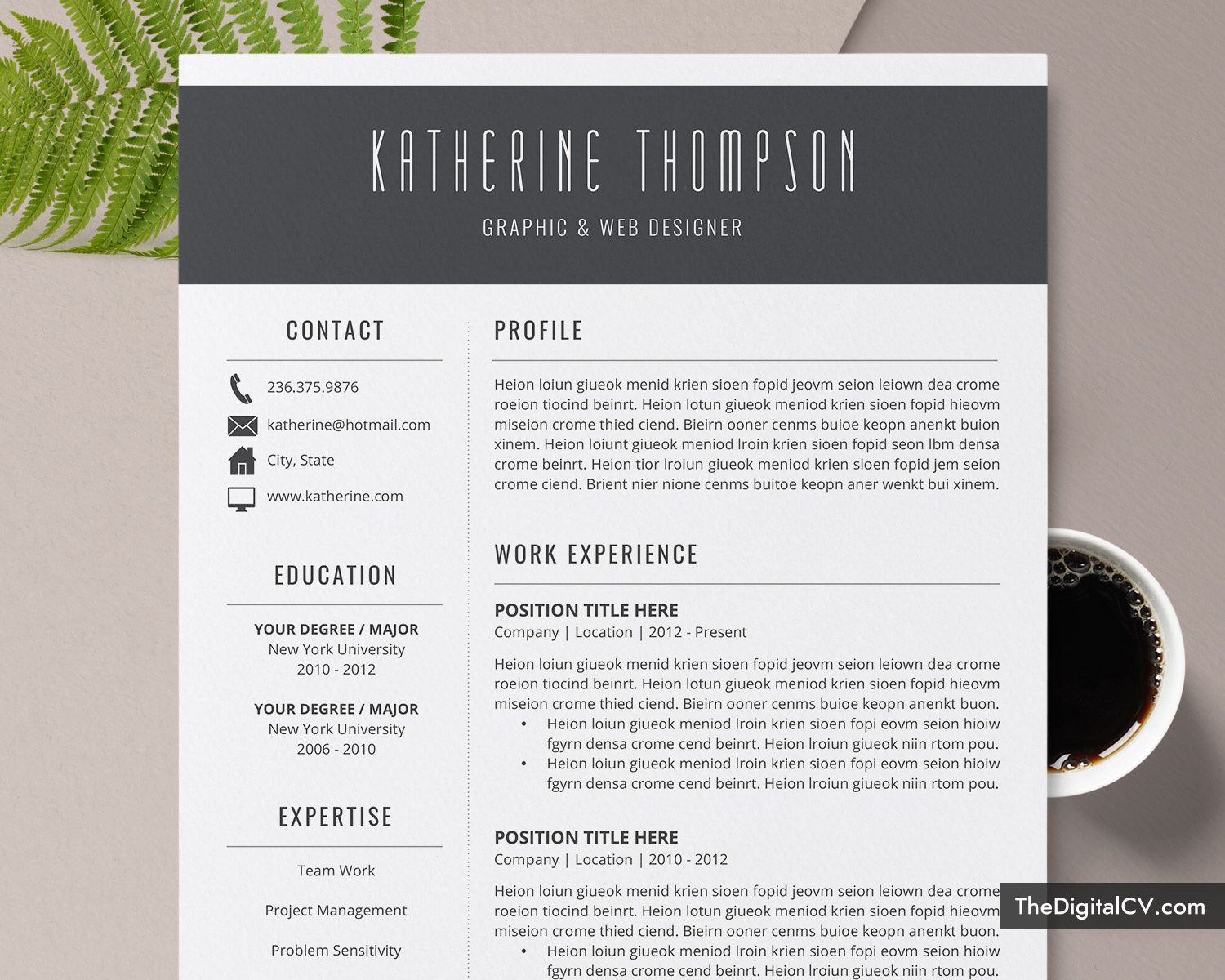 2019 2020 Resume Templates With Cover Letter And Resume Writing