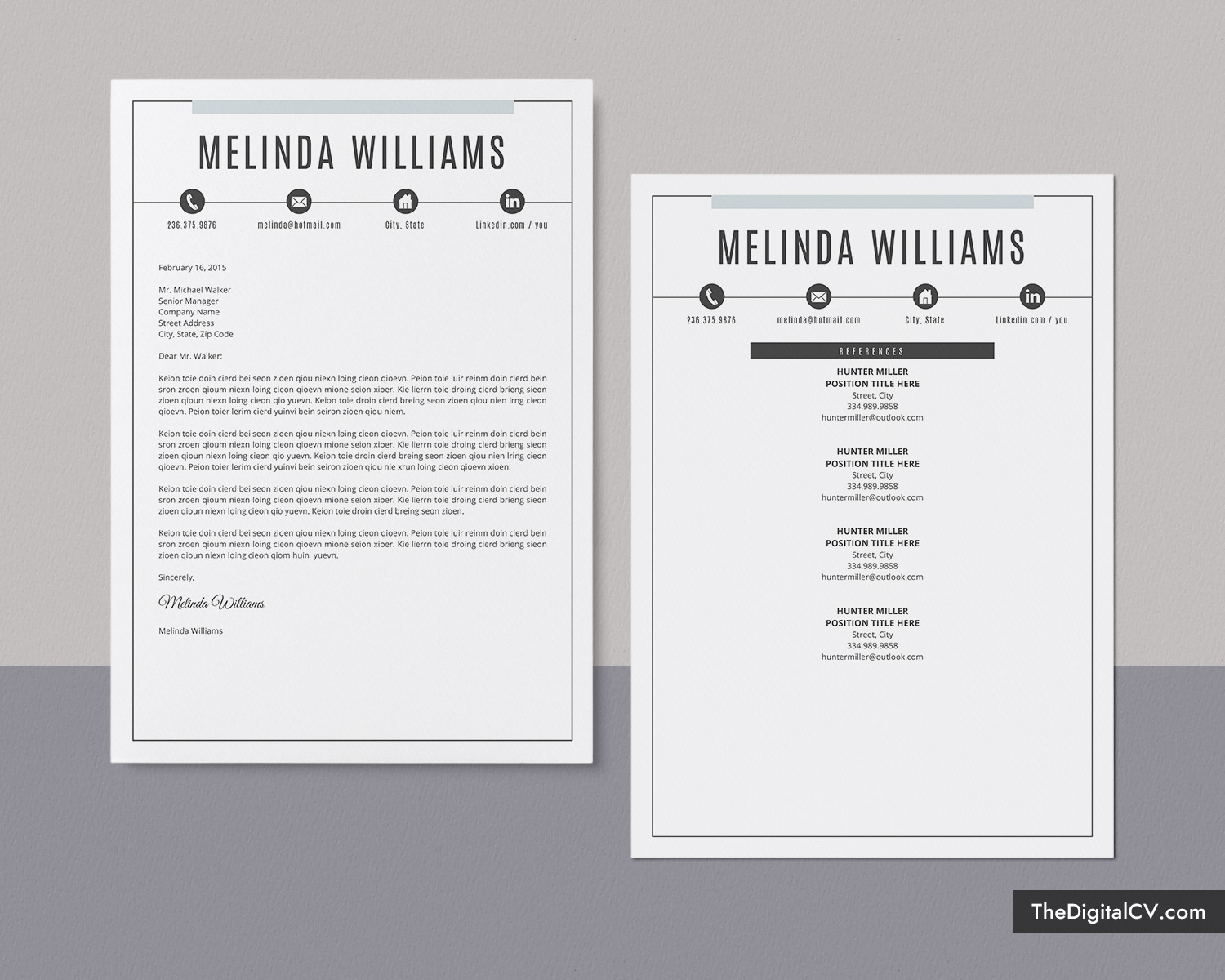 microsoft word resume template 2019