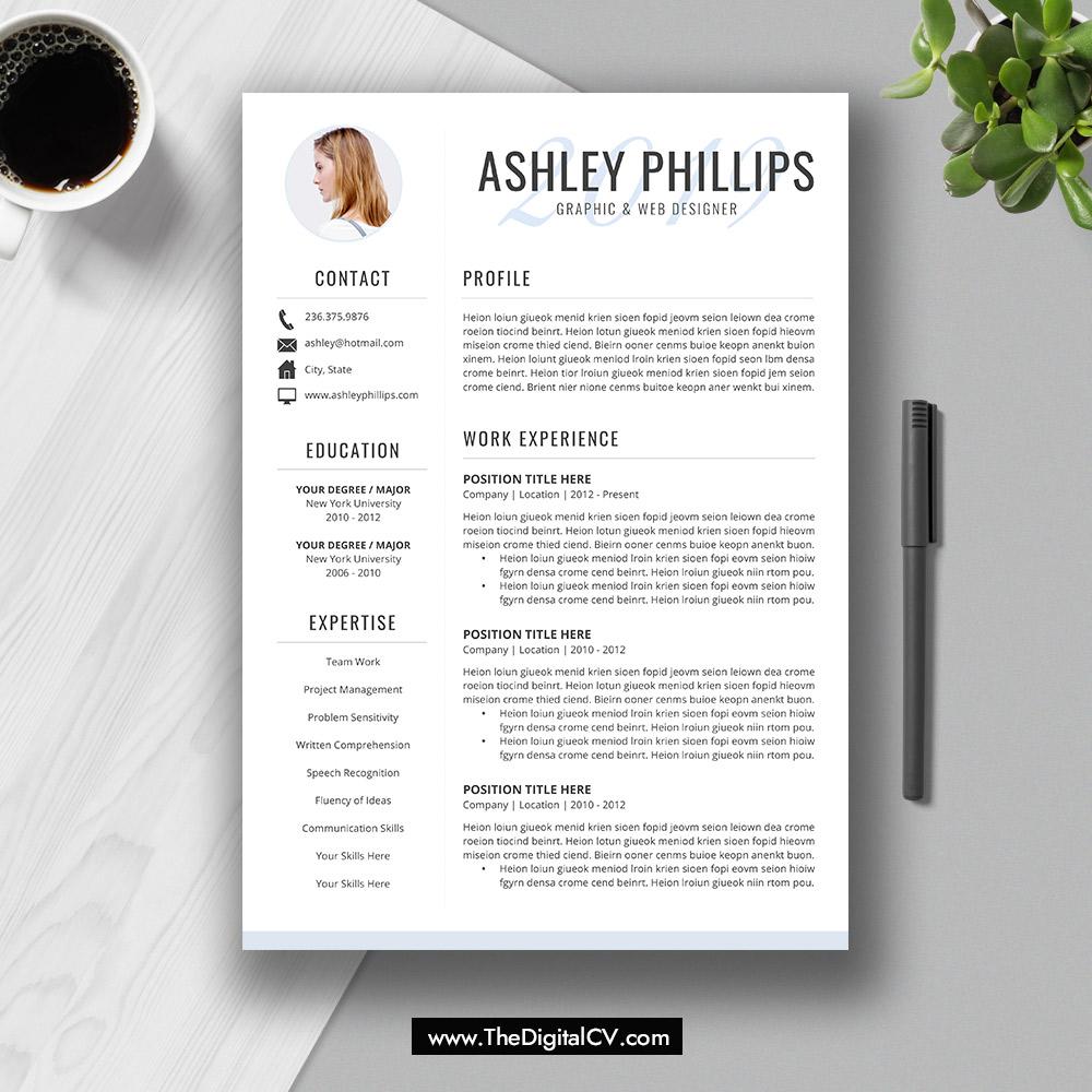 2019-2020 Resume / CV Templates, Cover Letter, Resume