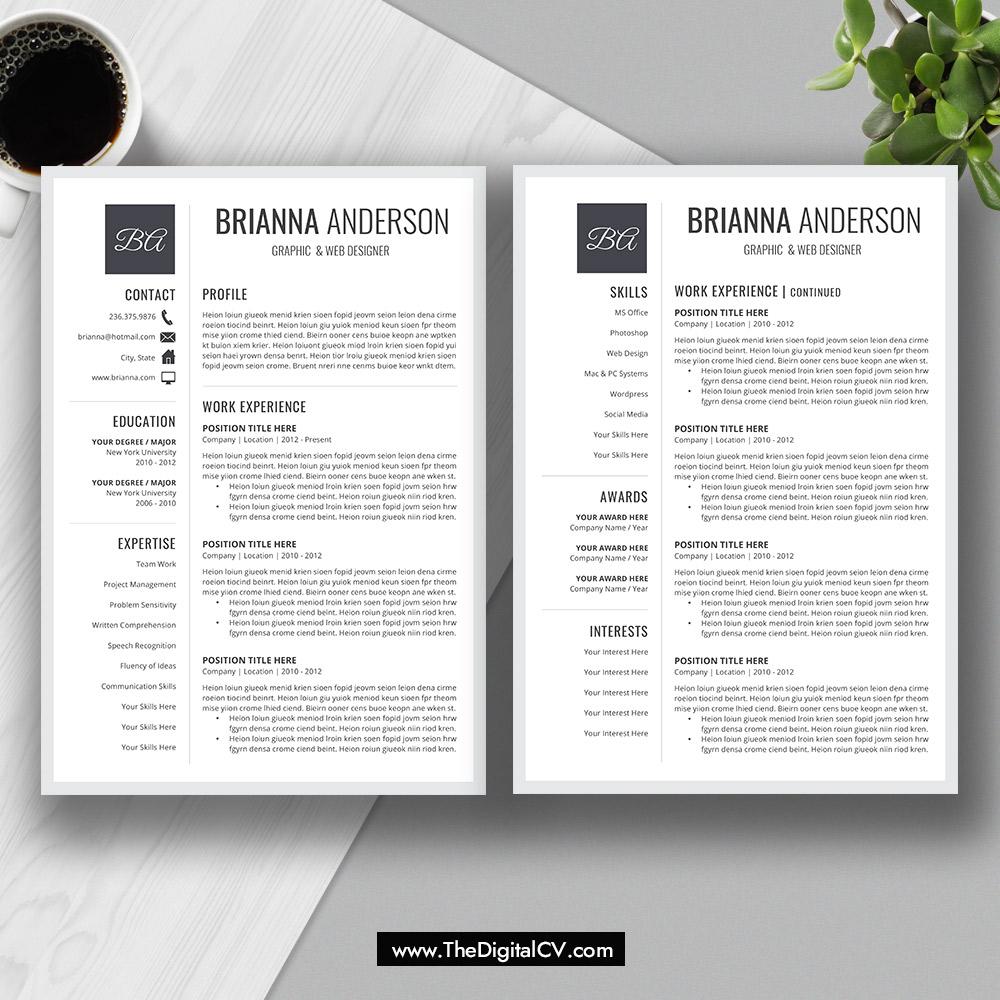 2019  cv templates  cover letter  resume