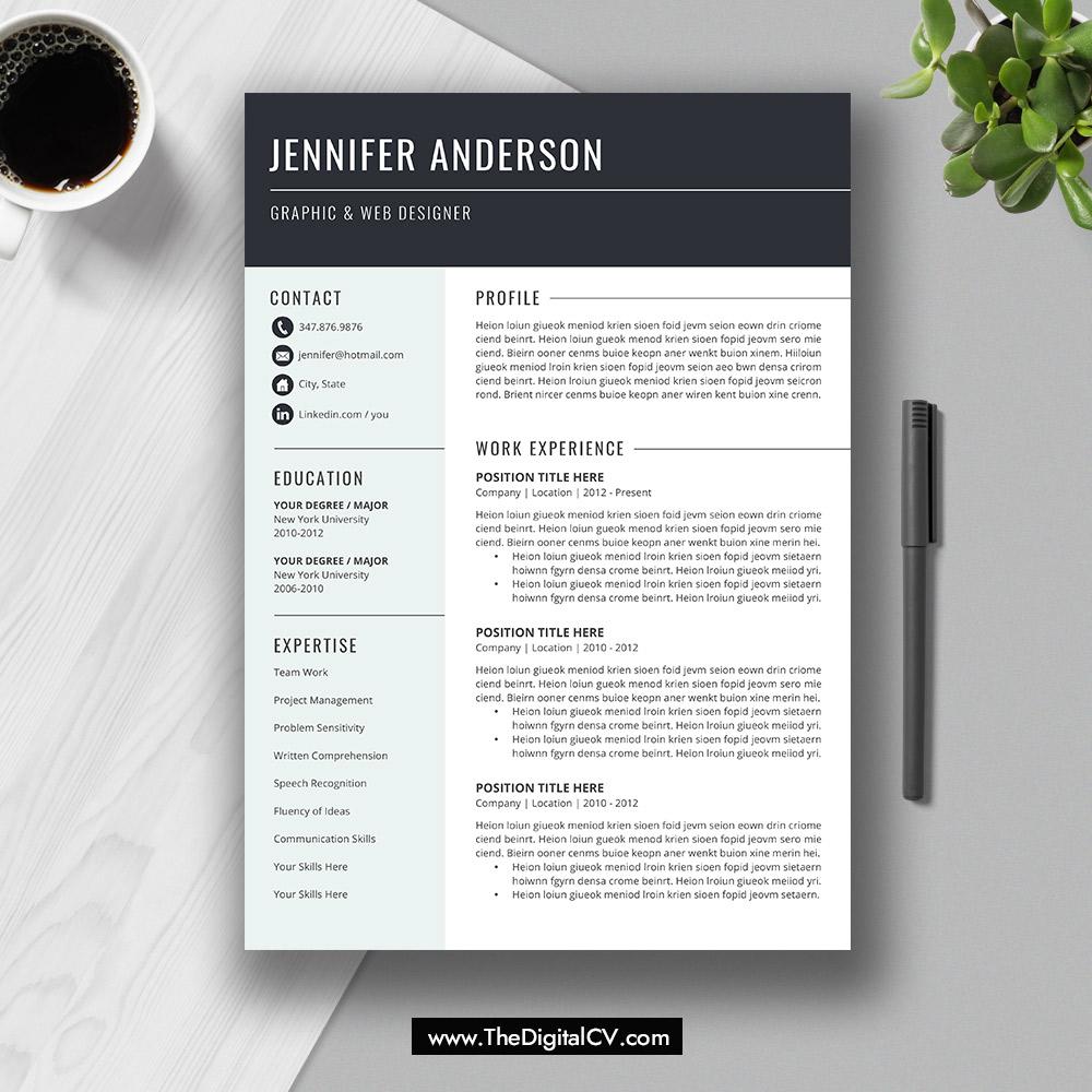 Thedigitalcv Com Page 5 2020 2021 Job Winning Resume Cv
