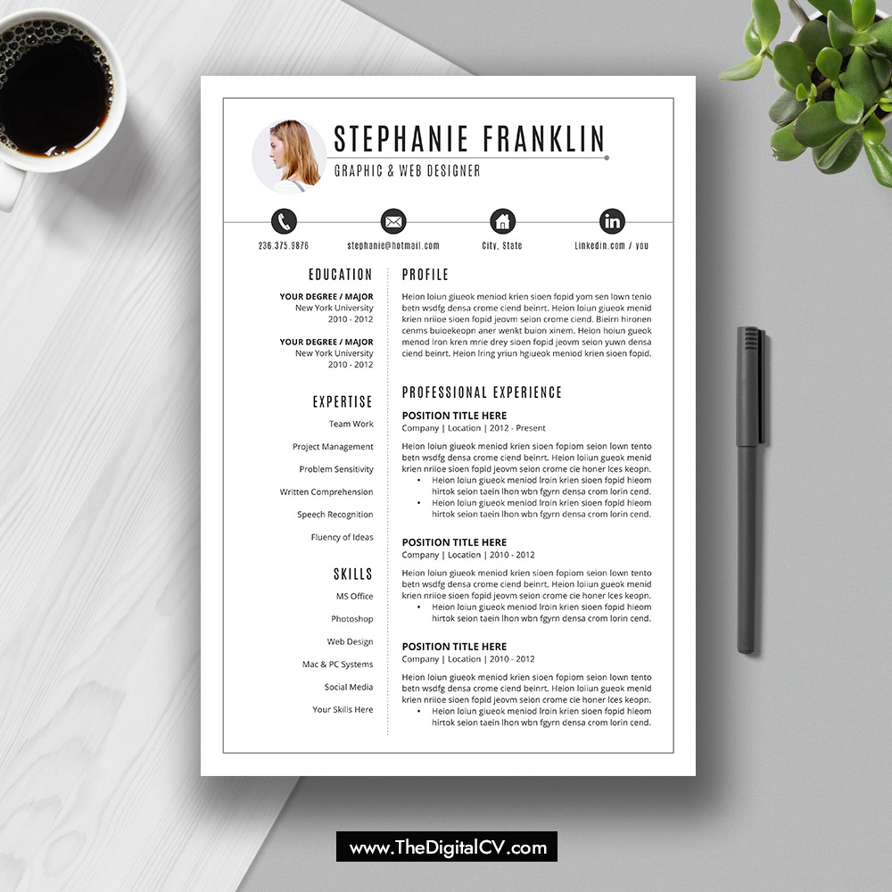 The Stephanie Resume This Microsoft Office Word Resume