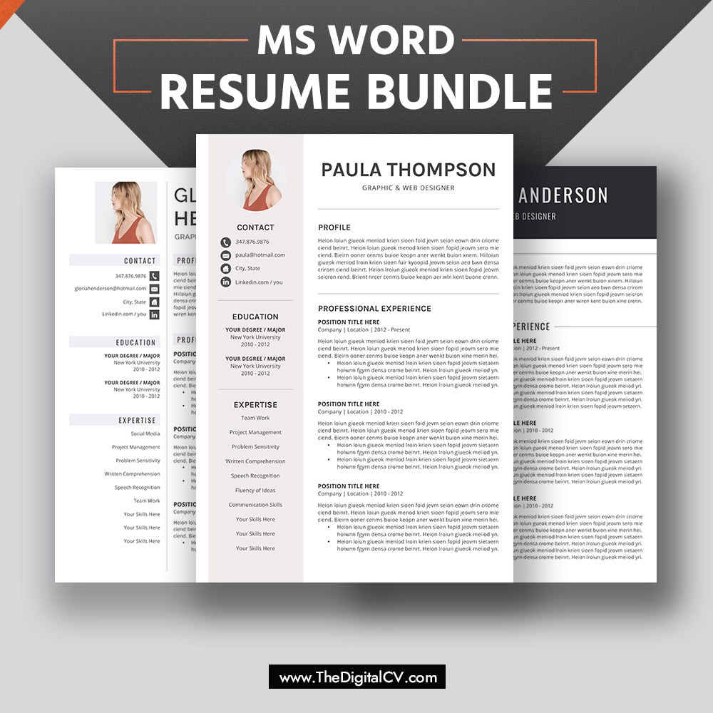 Modern Cv Templates For 2020 2021 Professional Resume Templates