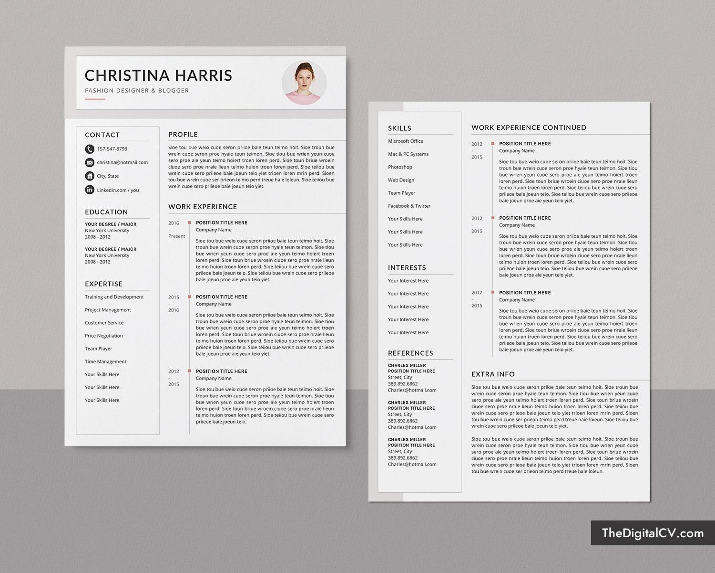 Modern CV Templates for 2020-2021, Professional Resume ...