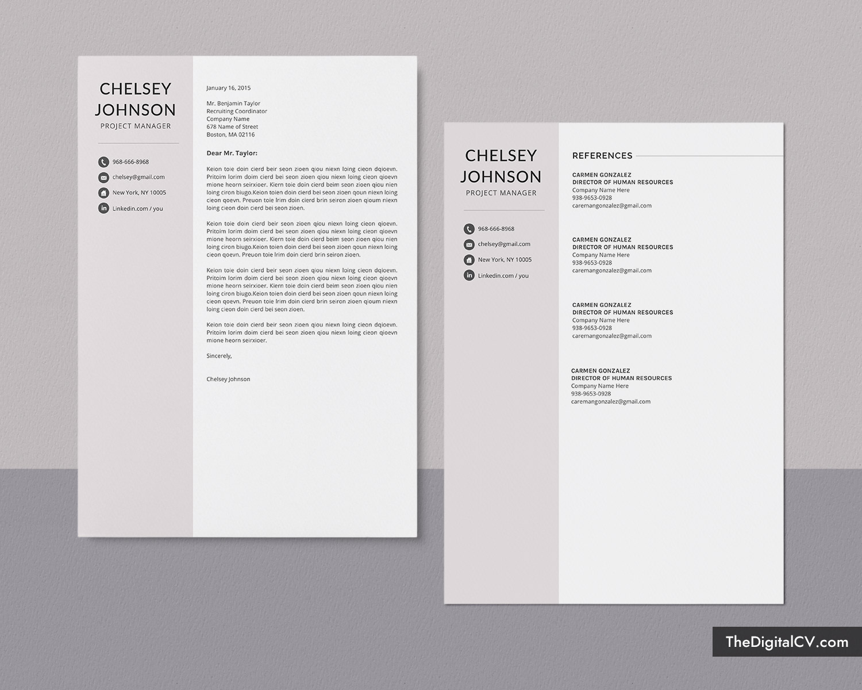 Simple Resume Design from www.thedigitalcv.com