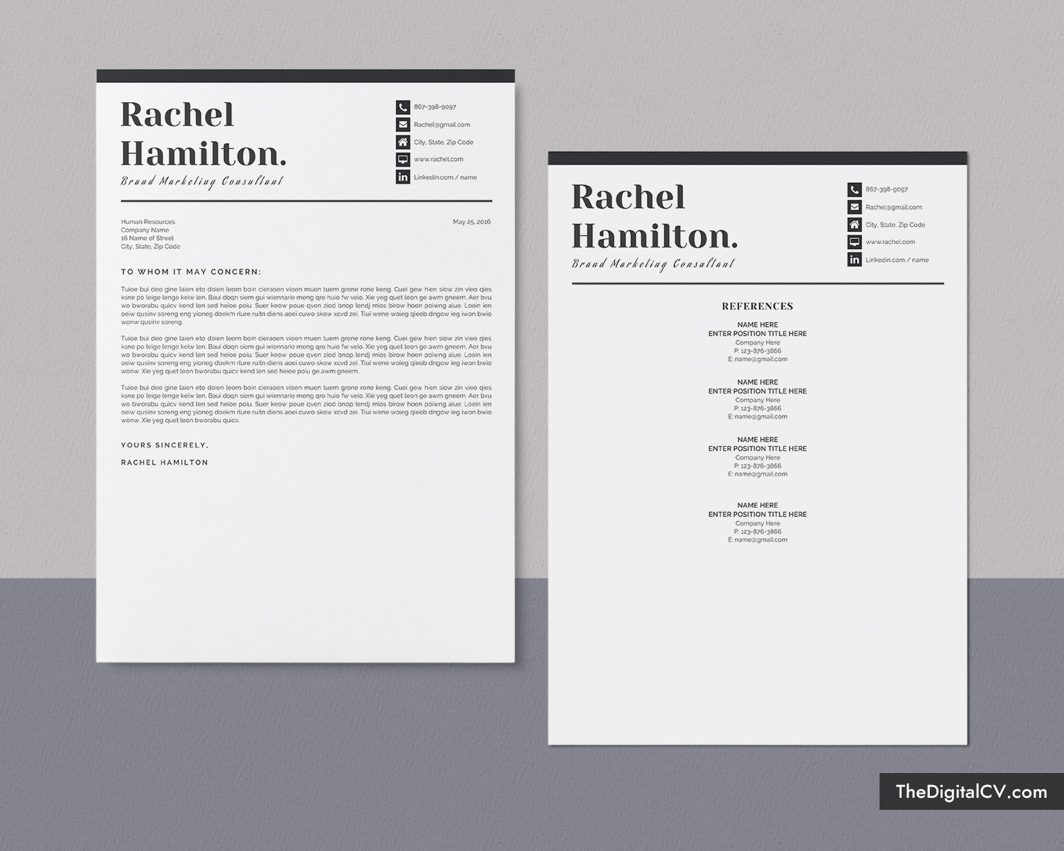professional resume format for 2020